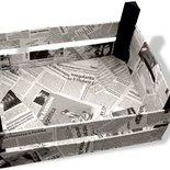 Porta riviste con giornali per la casa e per te for Giornali arredamento casa
