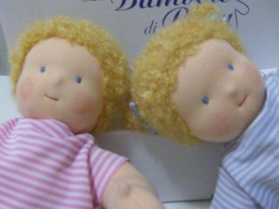 Irene e Laura, bebè articolati
