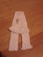 Set sciarpa più cappellino neonata