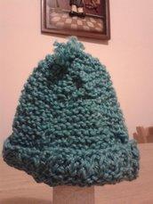 Cappellino bambino/ bambina azzurro
