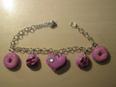 Bracciale in fimo Lilac is good