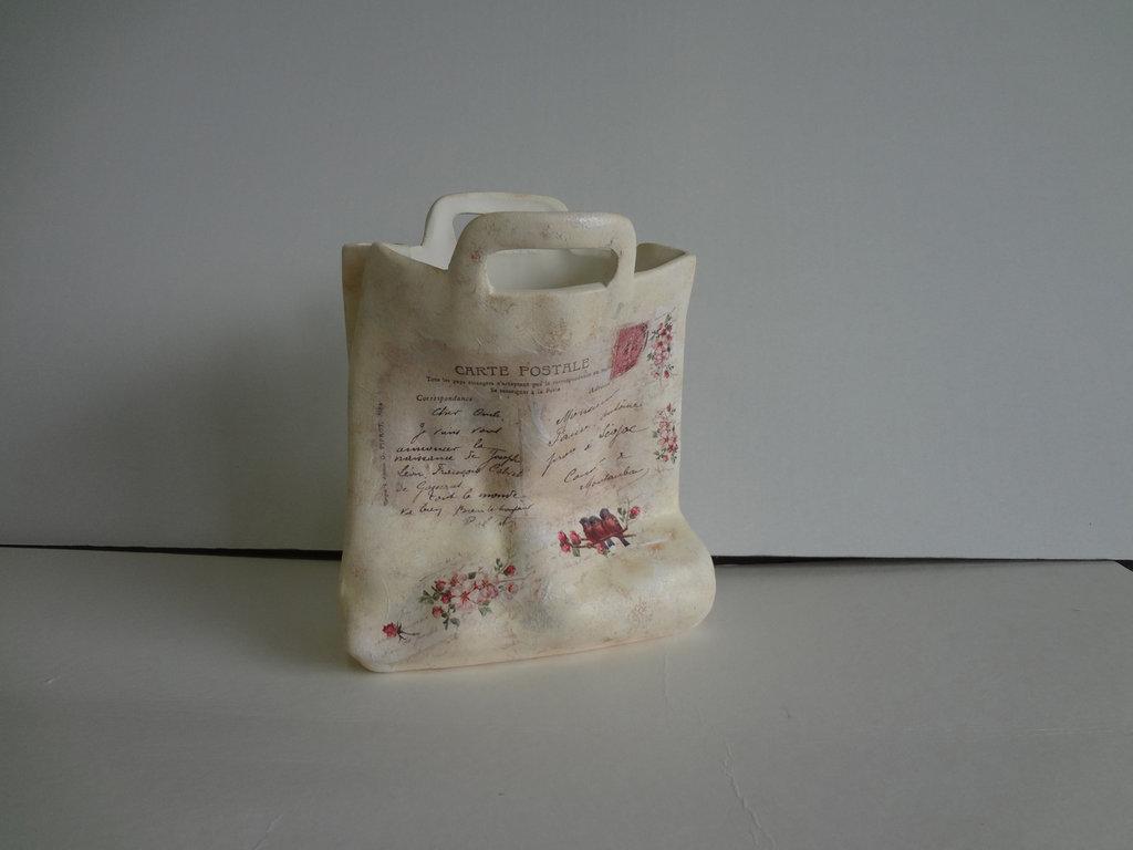 borsetta in ceramica
