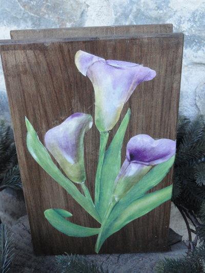 Libro portagioie in legno