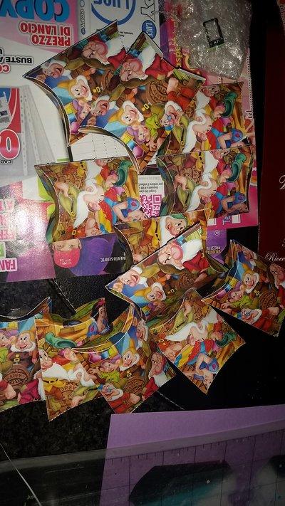 Portaconfetti scatoline per ogni tuo evento Biancaneve