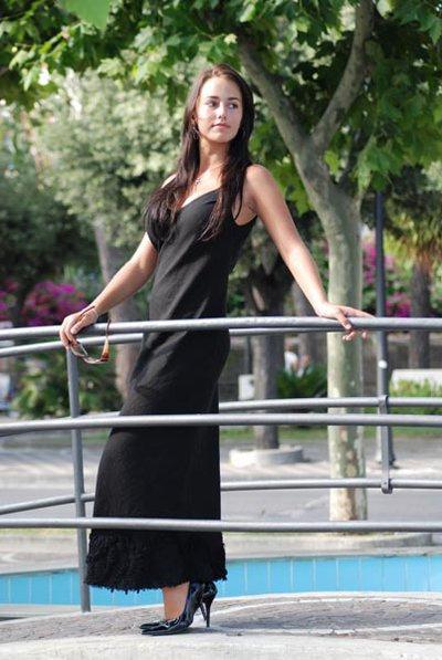 Vestito in lino