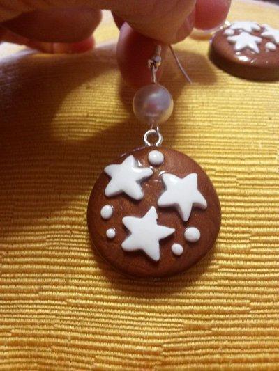 Deliziosi orecchini pan di stelle