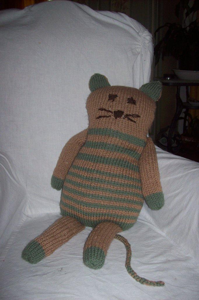 gatto cuscino