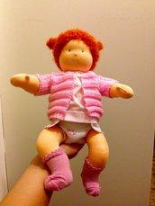 Bambola Sonia, bebè articolato