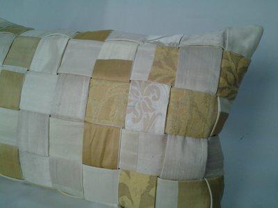 Cuscino a pastiera  in seta
