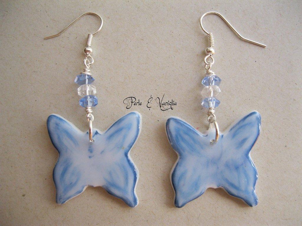 SCONTATI ♥ Petunia ♥ orecchini farfalla