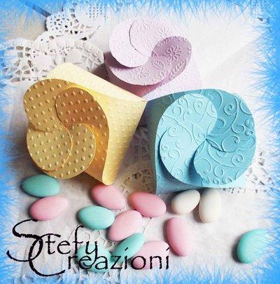 Scatoline Porta Confetti/Bomboniera
