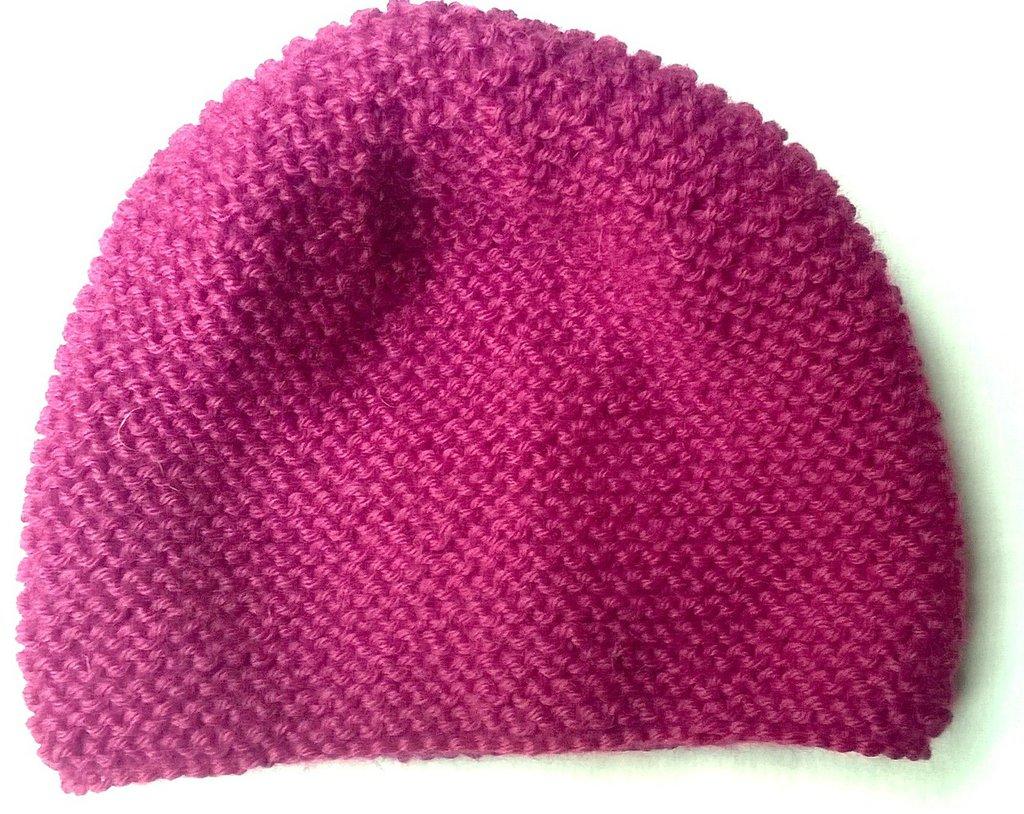 Cappellino fucsia baby