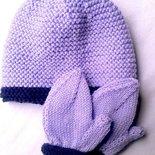 Set guantini e cappellino baby