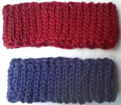 Fascia paraorecchie in lana
