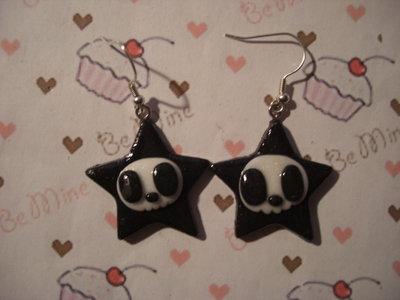 orecchini stella teschio tokidoki