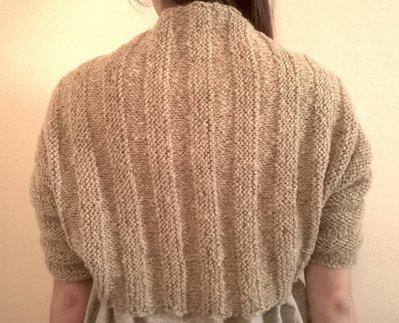 Coprispalle in maglia