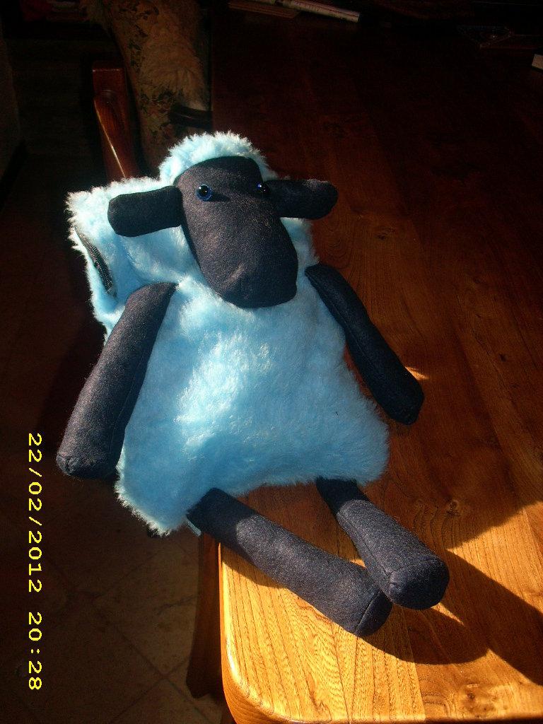 Zainetto per bambino a forma di pecora