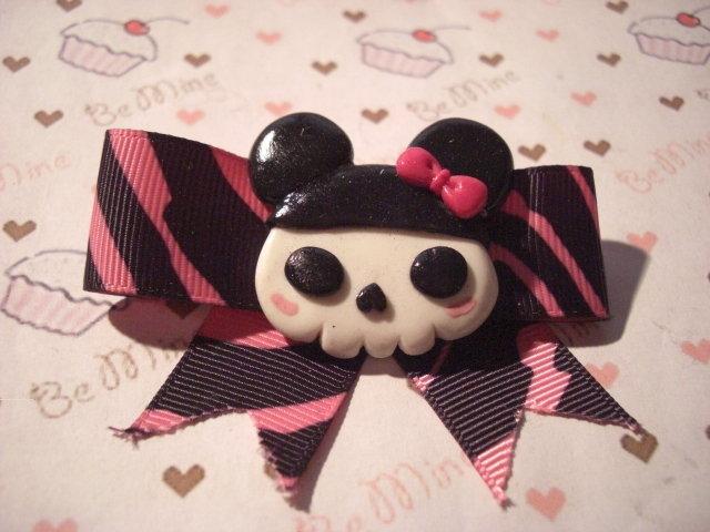 spilla charuca skull -charuca pin