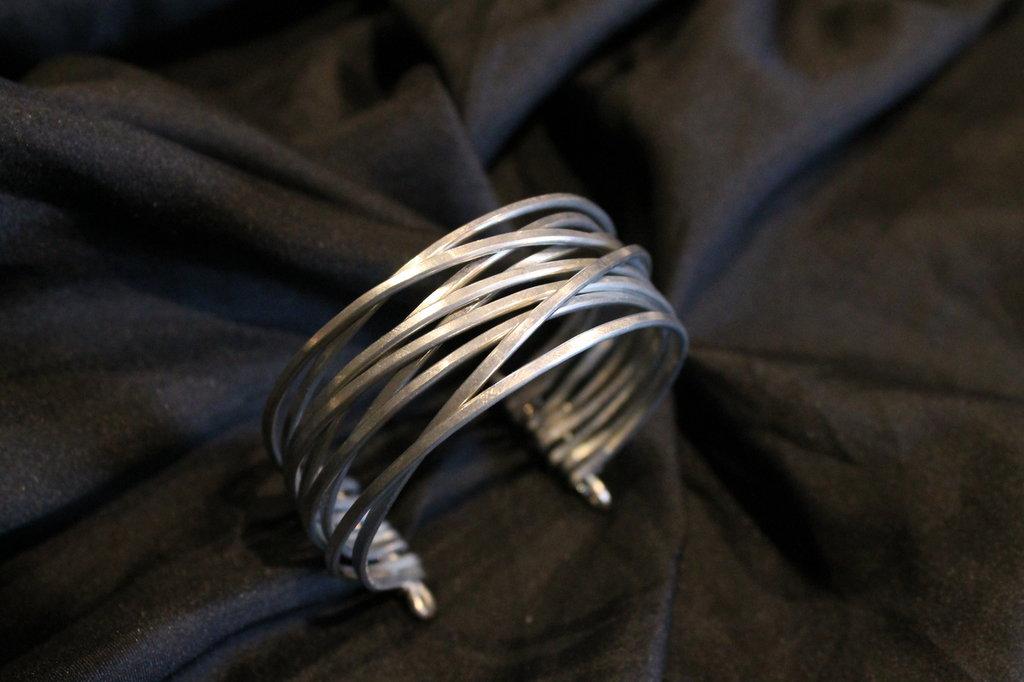 """Bracciale """"Calipso"""" in alluminio"""