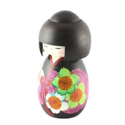 Bambole giapponesi - Kokeshi Yayoi, Marzo A800071