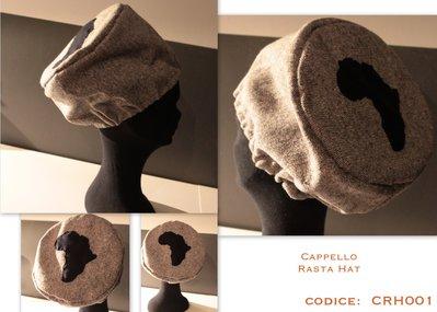 """Cappello """"rasta hat"""" africa"""