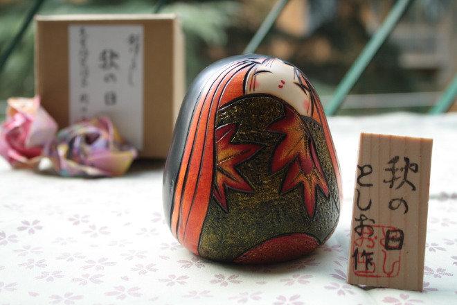 Bambola giapponese - Akinohi-Giornata Autunnale - A800104