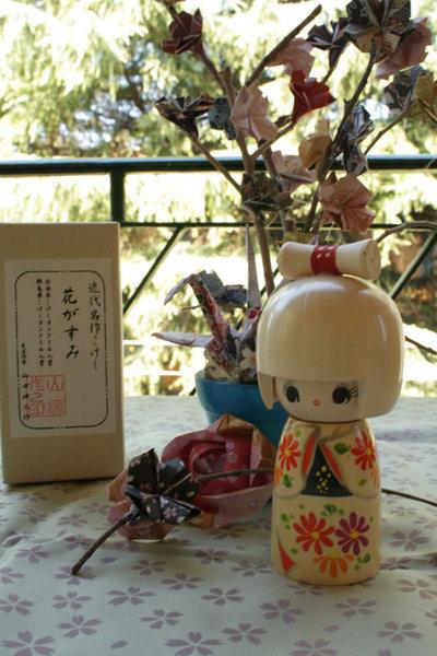 Bambola giapponese - Fioritura-A800017