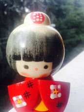 Ba,mola giapponese - Kokeshi Bellezza-A490201