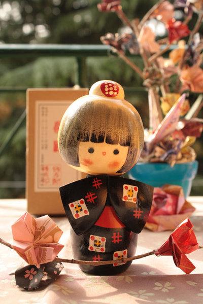 Bambola giapponese - Kokeshi Bellezza - A4902202