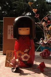 Bambola giapponese - Kokeshi, Canzone di Primavera (M) -A490196