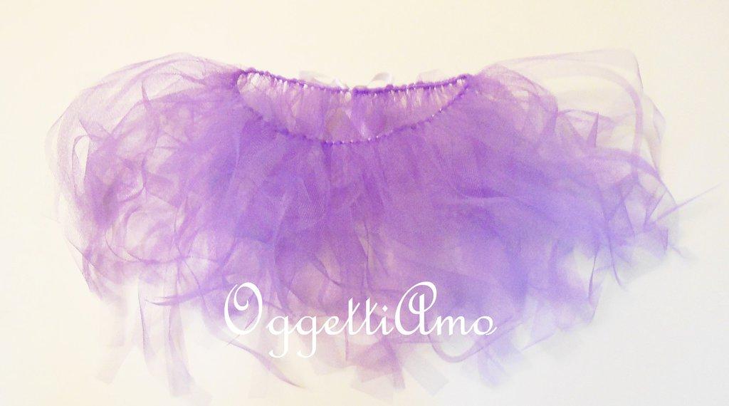 Tutù lilla per fatine: accessori viola per bambine che desiderano sognare!