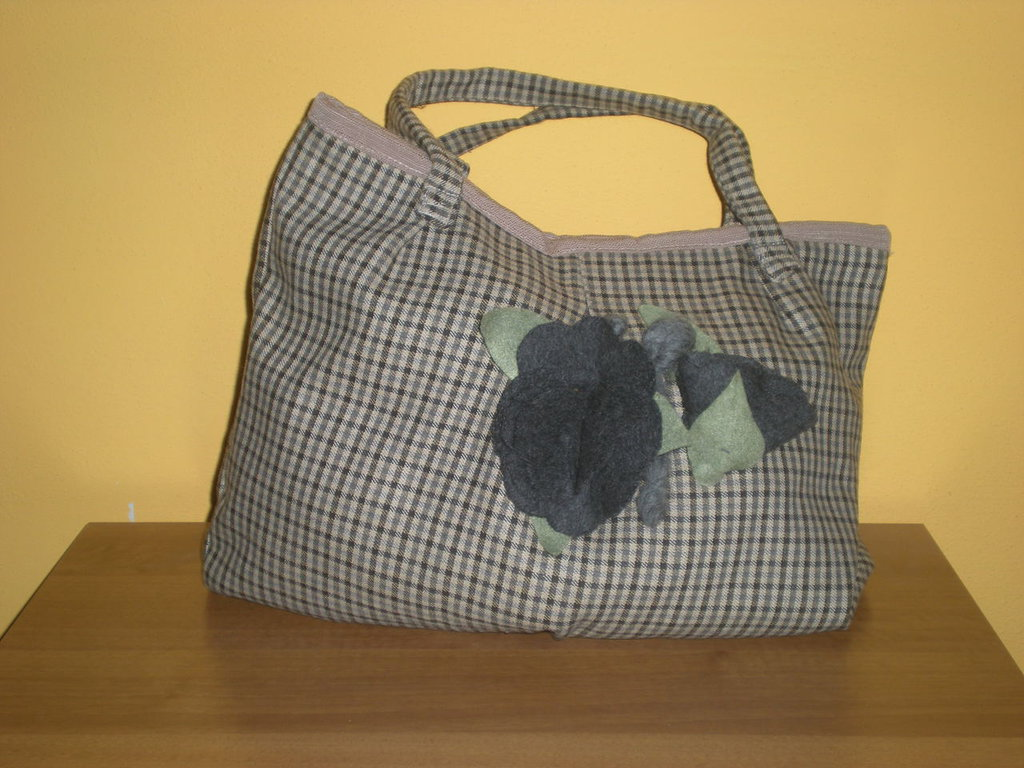 borsa a quadretti scottish