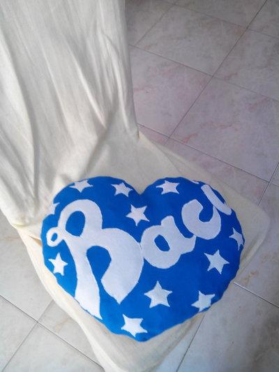 cuscino cuore Baci