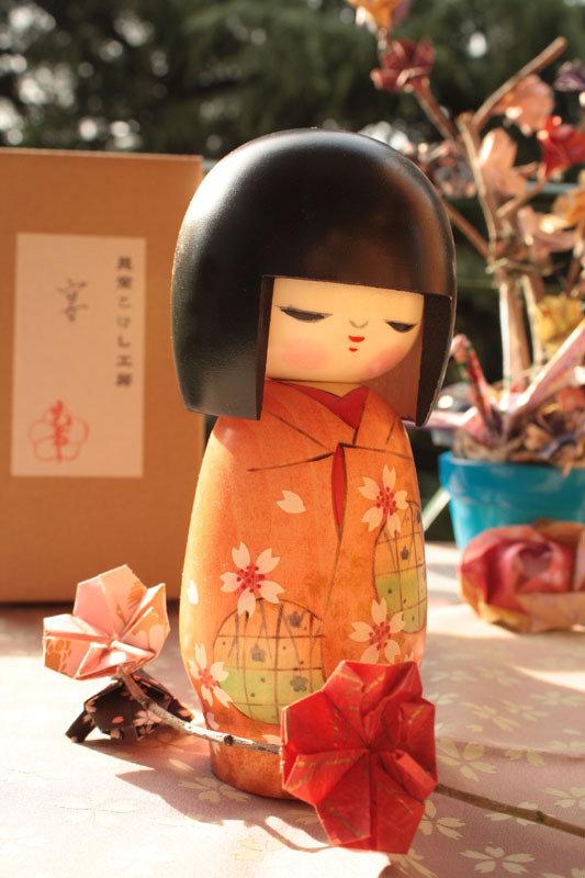 Bambola giapponese, Kokeshi Utage A490268