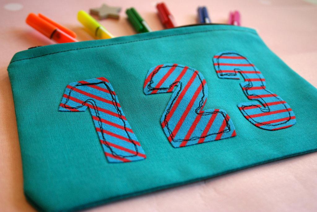 Astuccio porta matite e porta pennarelli per la scuola #schoolcollection