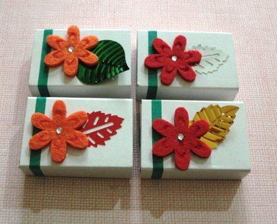 Scatoline decorate per regali - Packaging & Happy Flower^^