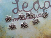 Charm Elefante argento