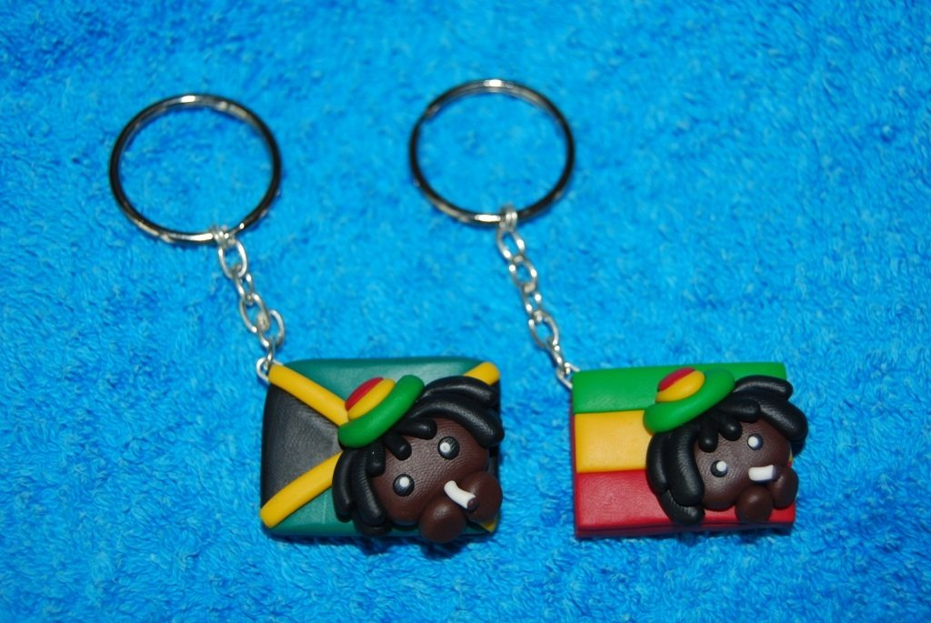 Portachiavi Rasta Jamaica