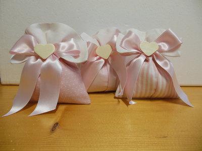 bellissimi sacchettini bomboniera
