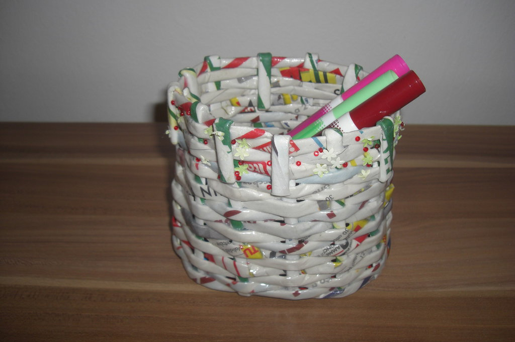 Portapenne in carta riciclata