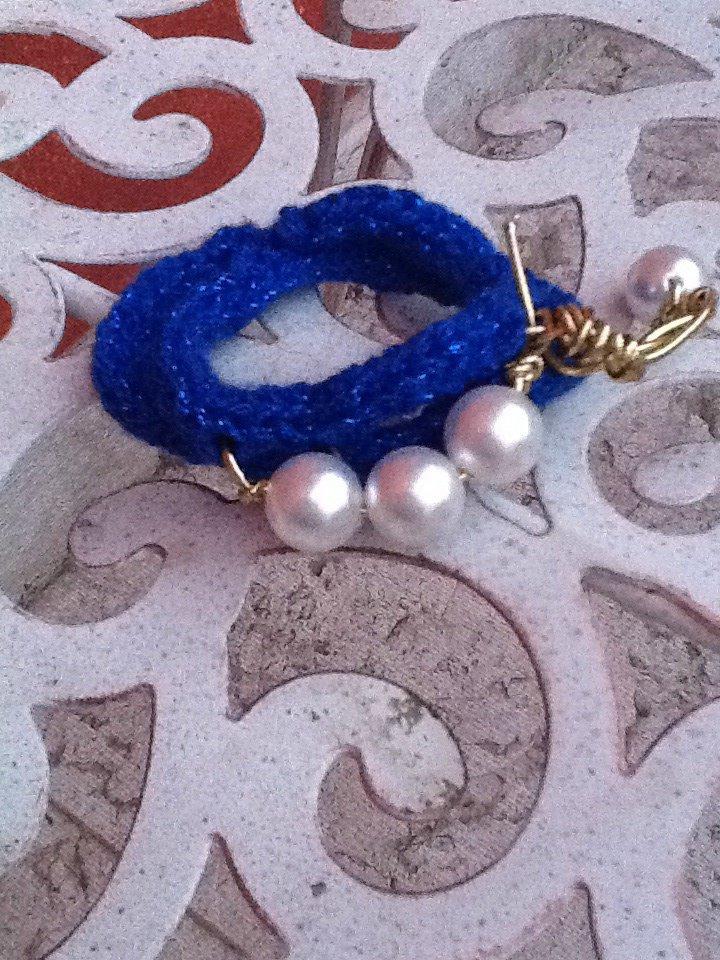 Perle bluette oro