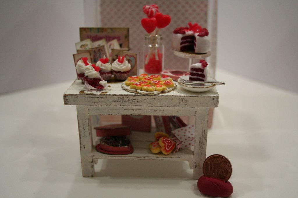 Miniatura San Valentine's day Sweet Table