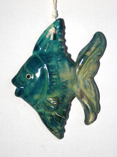 Pesci in ceramica dim piccola per la casa e per te for Pesci con la e