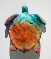 Tartaruga in ceramica dim. media