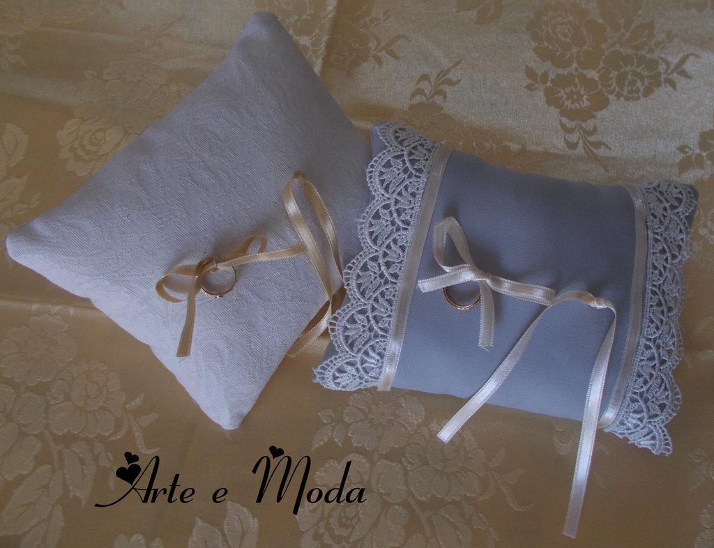 Il cuscino portafedi