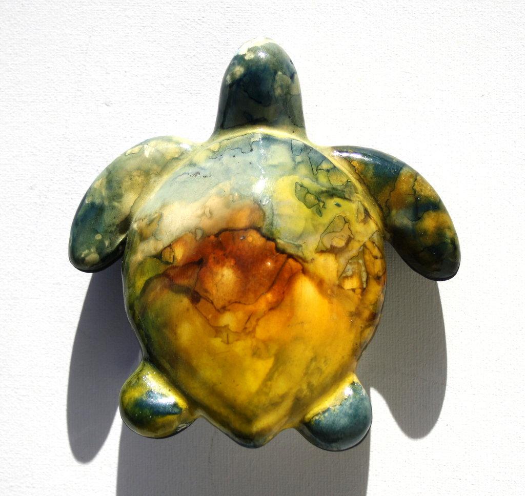 Tartaruga in ceramica dim. piccola