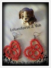 orecchini chiacchierino cuore