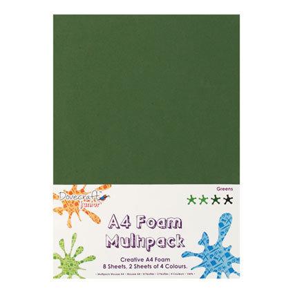 Set gomma crepla A4 - Verde