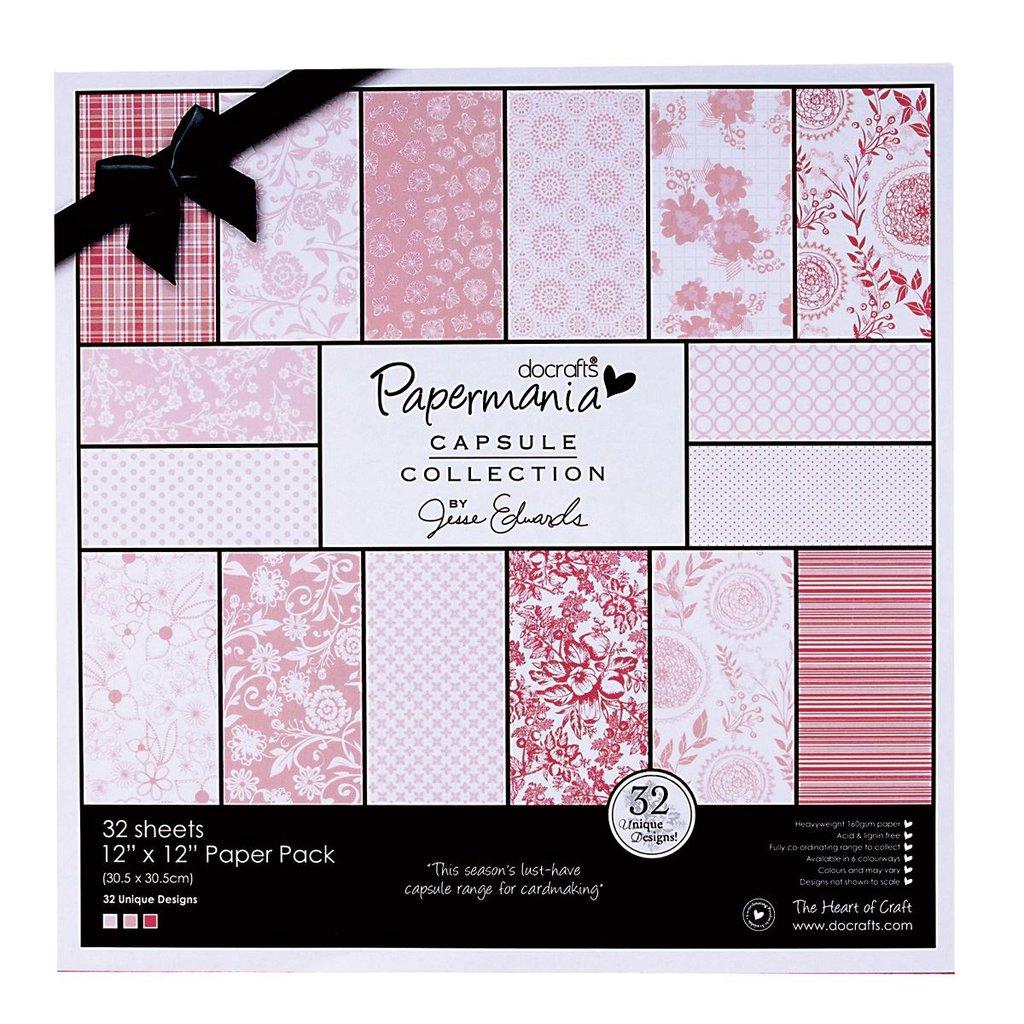 Blocco di carta 30x30 cm - Capsule Parkstone Pink