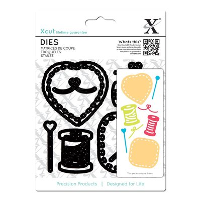 Set fustelle Xcut - Sewing Patches